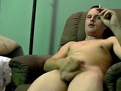 Horny stud enjoys a spitroasting