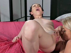 Lesbian zoey foxx pleasing mature lezzie