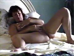 Husband watches wife masturbate videos
