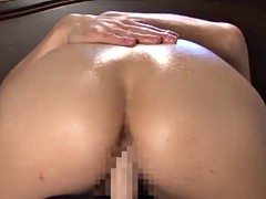 Remarkable, very Oil cowgirl handjob