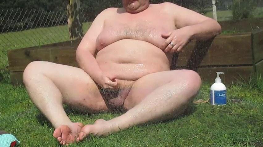 Голый Толстый Мужик Дрочит