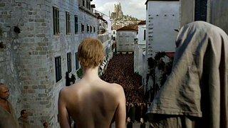 Actress Lena Headey completely nude scenes from tv series