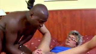 Granny vs bbc gilf jessey rough interracial anal