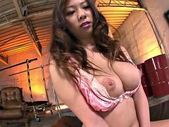 Порно ролики азиатки с огромными сиськами