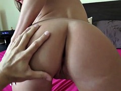 Amateur anal loving herself filming whore