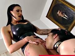 Bdsm bondage lezd tattooed bitch
