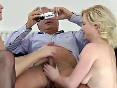 Young british babes pussydrilled by old sir