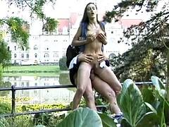 онанирование в парке видео горячие