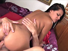 Sexy brunette fucked in selma fat pussy
