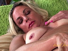 Mature wet pussy needs a boost