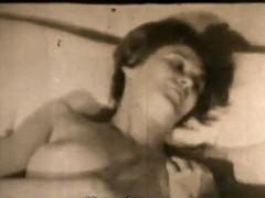 Boy masturbation milf's vagina (1950s vintage)