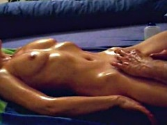 sensituve pussy massage leads to orgasm