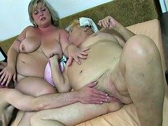 Oldnanny bbw mature and old grandmother and guy have a nice treeso
