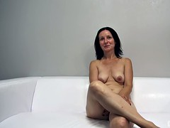 Dick in amateur brunette pussy