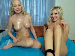 Amateur blonde lesbian sex