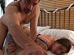 Seksowna stara mama porno
