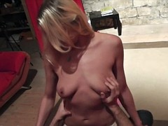 Lapdance and more of beautiful blonde