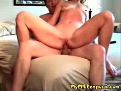 My mom exposed amateur couple homemade porn video