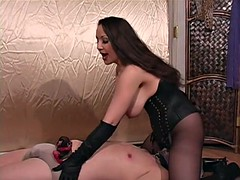 Gagged panty Mother in