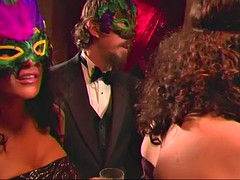 masked swinger party with sassy european bitches