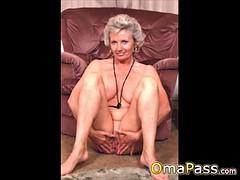 Abuelas desnudas con grandes tetas culo