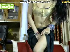 indian webcam dancing with vibrator control