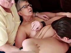 silver granny fucked