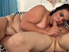 fat latina milf angelina takes it up the ass