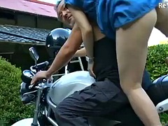 powerfull asian japanese milf is having an affair with the strong man