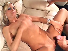 Naughty Neighbor Suck Fuck On The Couch