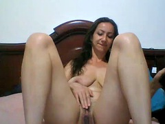 old colombian whore milf with big tits doing the only thing she know