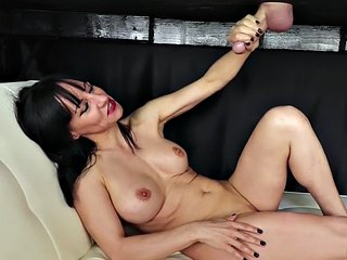 Busty mature masseuse spoils clients cock