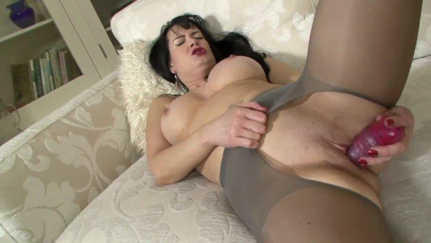 Hausfrauen Riesenschwanz Leggings Massage