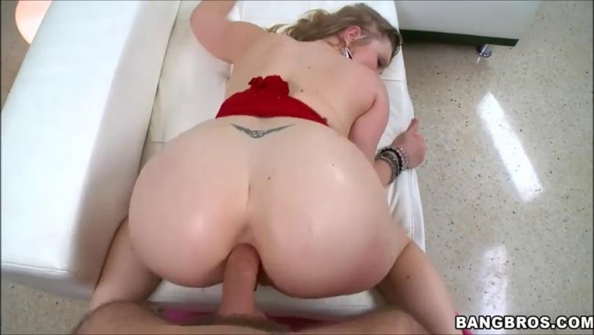 Blonde milf and black slutload