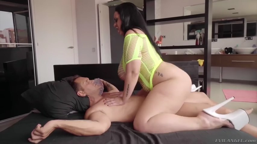 Chubby mom ryan smiles fucks her son's friend in the kitchen