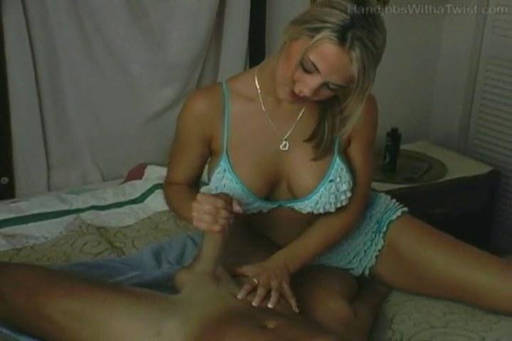 Handjobs with a twist
