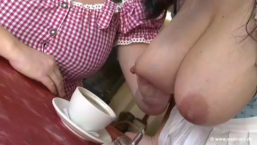 Funny tits milk