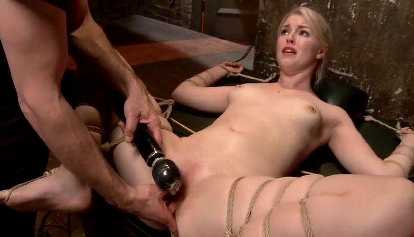Girl forced squirt