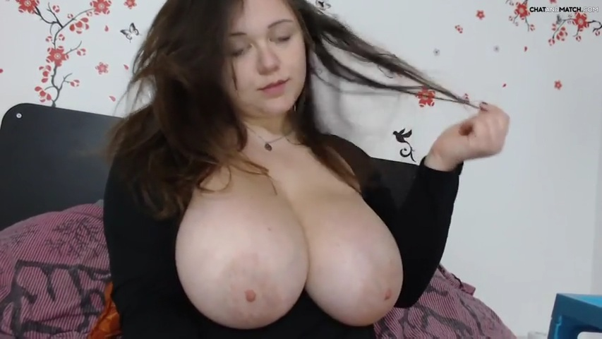 Big natural tits webcam